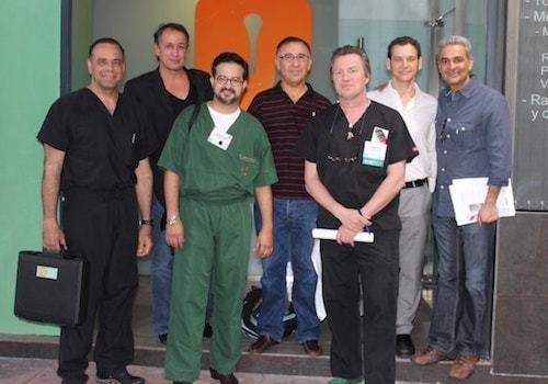 FUE Research Committee Members from left to right: Drs. James Harris, Bijan Feriduni, Marcio Crisostomo, Alex Ginzburg, Jean Devroye, Jose Lorenzo and Parsa Mohebi