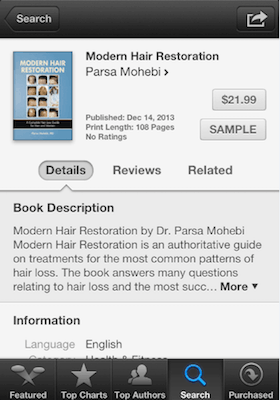 Modern Hair Restoration by Dr. Parsa Mohebi