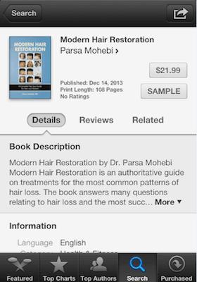 Modern Hair Restoration by Dr. Parsa Mohebi