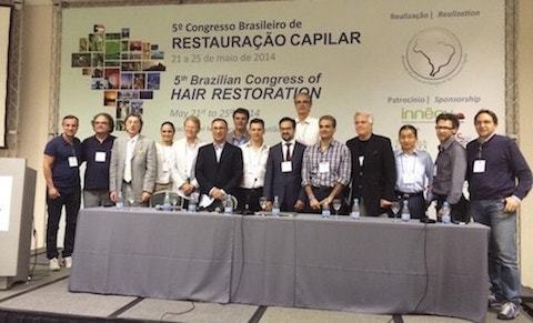 Hair Restoration Meeting in Brazil