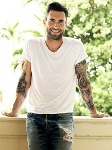 Adam Levine Perfect Hair