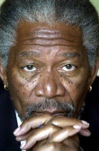 Morgan Freeman Hairline