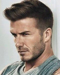 Hairline of David Beckham