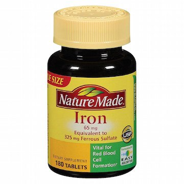 Low iron can cause hair loss