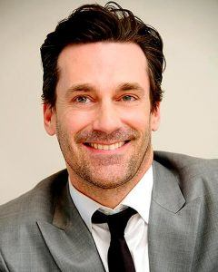 Jon Hamm's hairline