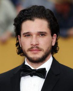 Hair of Kit Harrington