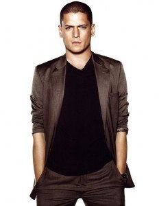 Hairline of Wentworth Miller