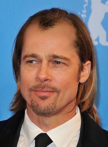 Bald-Brad Pitt