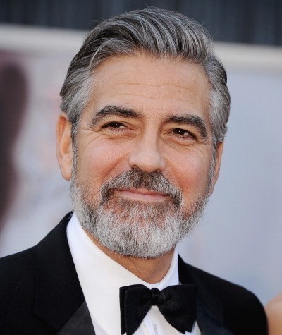After-George Clooney Hair