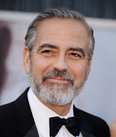 Before George Clooney Hair