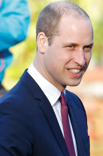 Prince William Balding