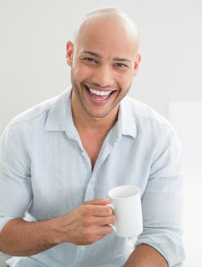 Thick Hair due to Caffeine