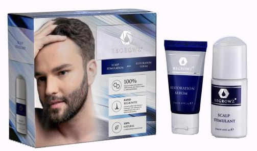 Regrow Hair Loss product study on results