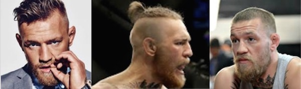 Conor McGregor Hair
