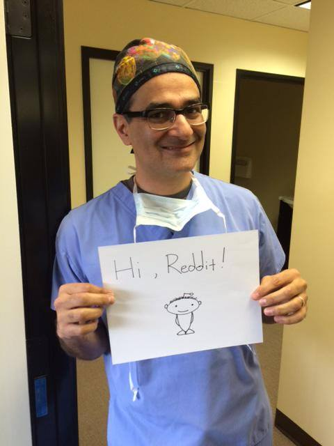 Dr. Parsa Mohebi on Reddit