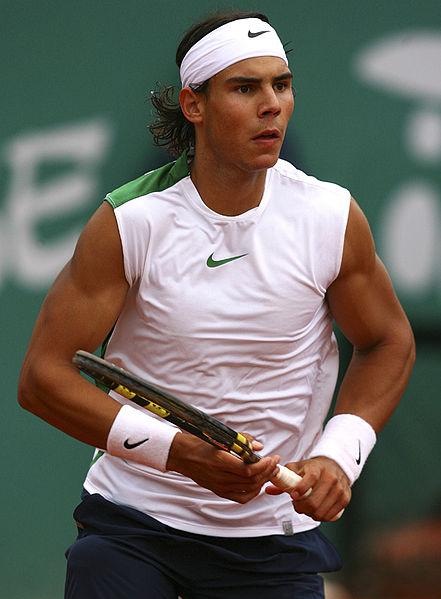 Hair loss of Rafael Nadal