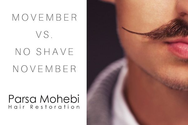 Movember Vs. No Shave November