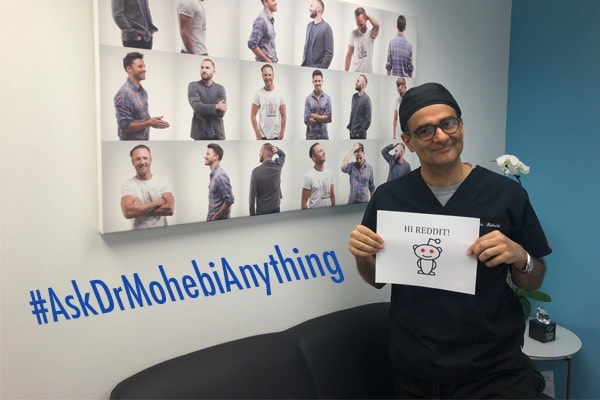 Dr. Parsa Mohebi will be doing a live Reddit AMA