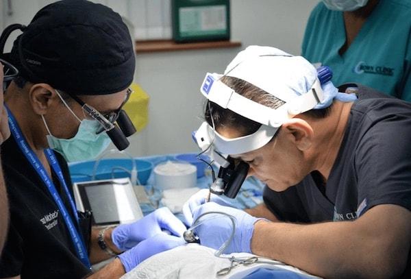 Eyelash transplant case study in Manchester