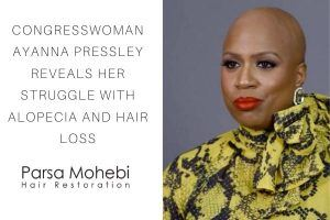 Congresswoman Ayanna Pressley Reveals Her Struggle With Alopecia and Hair Loss