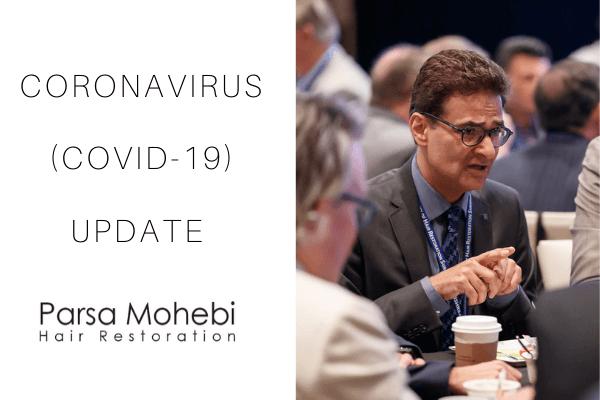 coronavirus covid-19 hair transplant update
