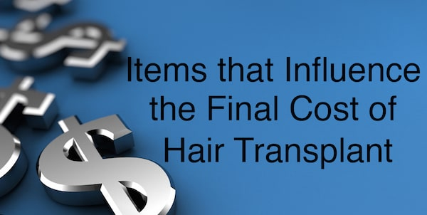 The final cost of hair transplant