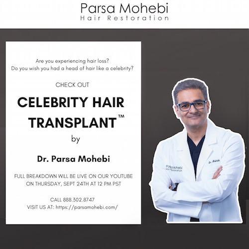 Celebrity Hair Transplant™ procedure video