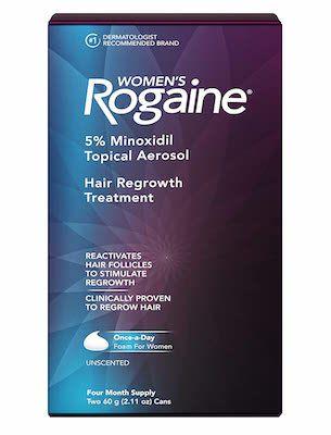 Rogaine for Female hair loss
