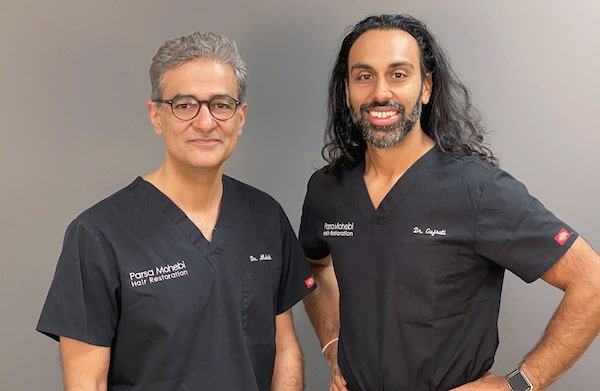 Meet Dr. Gujrati, Dr. Mohebi's new patient