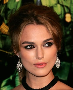 Female hair loss affected Keira Knightley