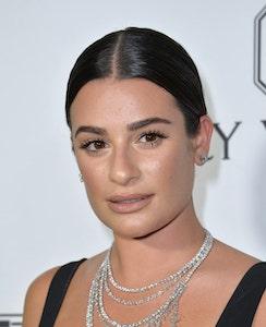 Female hair loss affected Lea Michele