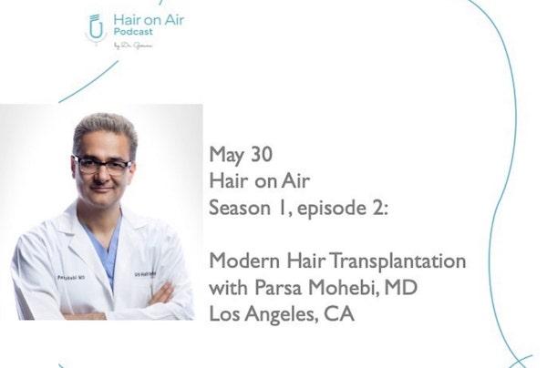 Modern hair talk on hair on air podcast